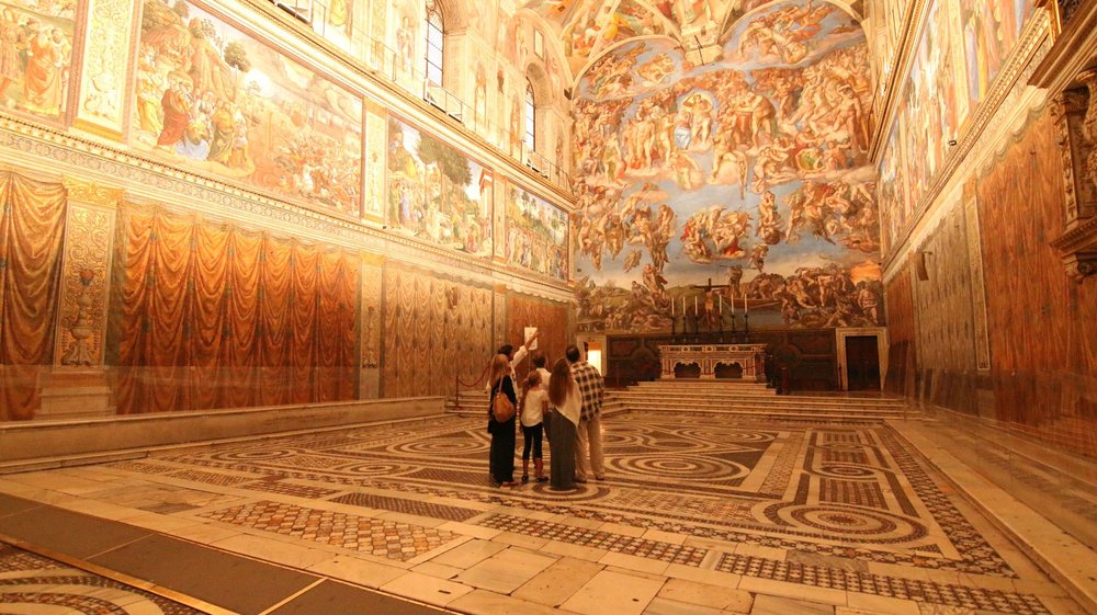 Private viewing of the Sistine Chapel.jpg