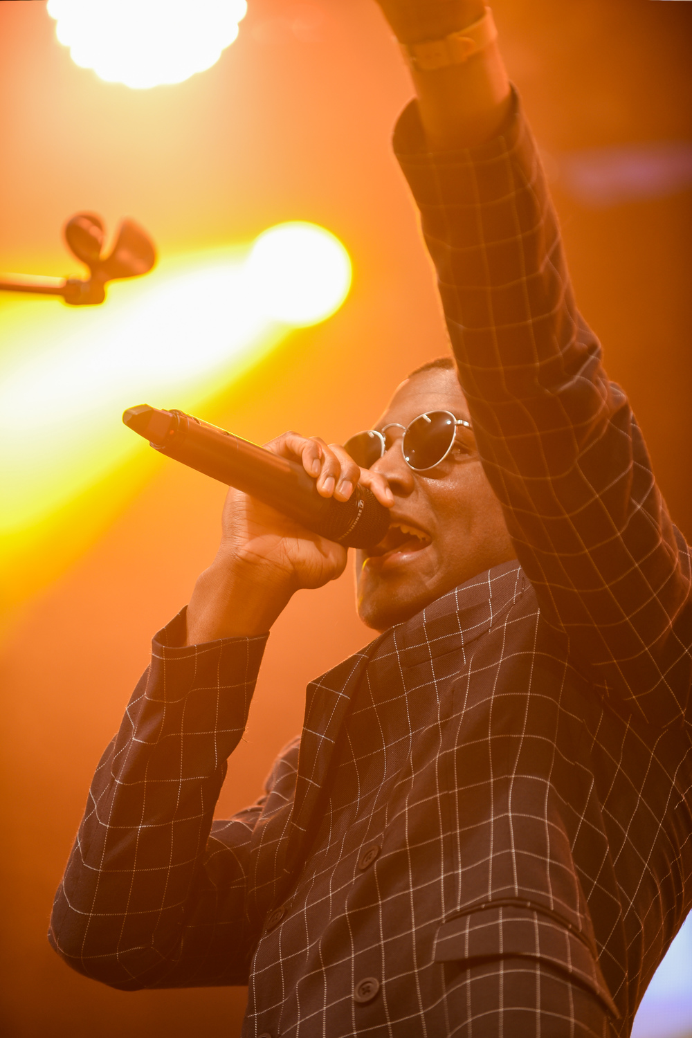 Labrinth perfroms at the Fold Festival 2016 in London's Fulham Palace