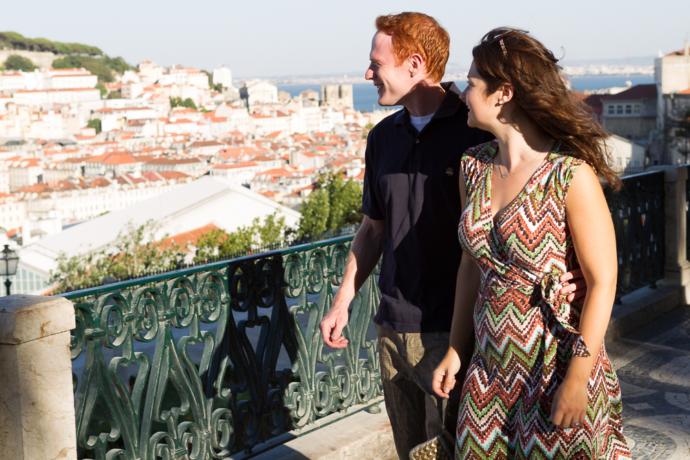 Honeymoon in Lisbon, Portugal. Vacation Photographer. Vacation Photos. Flytographer.