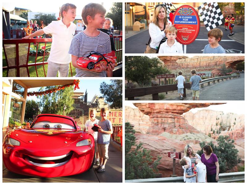 vacation photographer in Cars Land. Flytographer