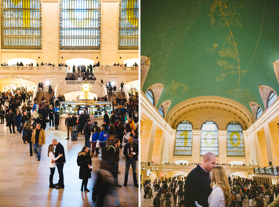 Grand Central Station.Photographer: Lauren Colchamiro