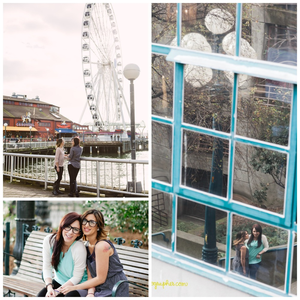 "The ""Great Wheel"", and fun around the streets of Pike Market."