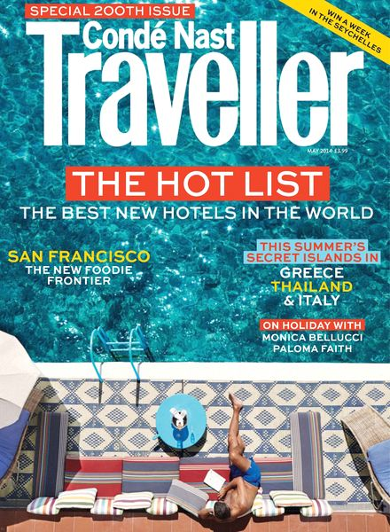Conde Nast Traveller Magazine and Flytographer