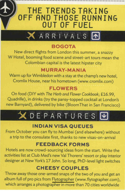 We are still in shock to see OUR NAME inside Conde Nast Traveller Magazine.... Cracking champagne is TOTALLY justified, right?