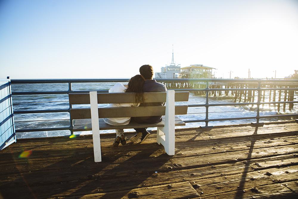 Santa Monica Vacation Photographer | Honeymoon Photos