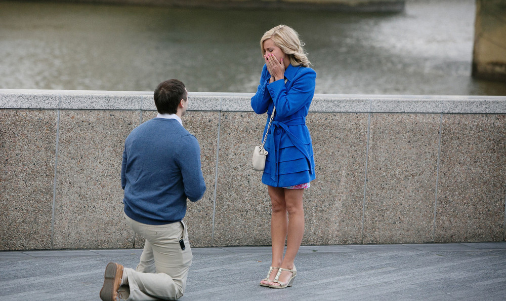 London Surprise Proposal Photographer