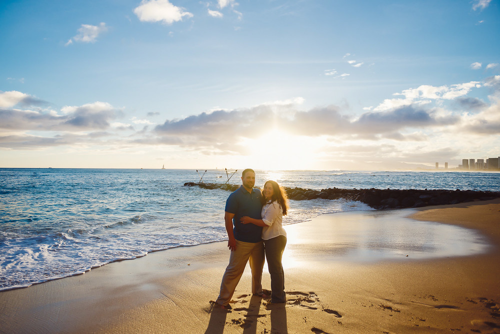Tip: Elena and Chad drove to a location an hour away in order to get incredible light. It's really worth it, trust us!