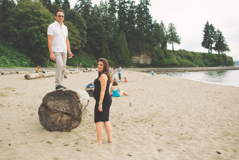 Vancouver Vacation Photographer | Babymoon Photos