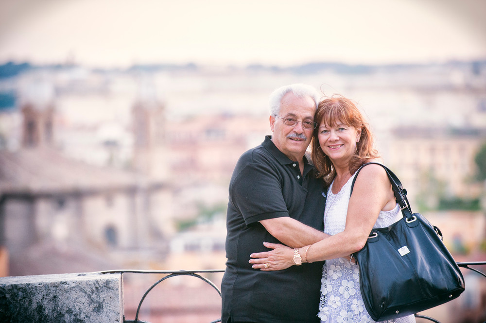 40th Anniversary in Rome | Rome Vacation Photographer | Flytographer