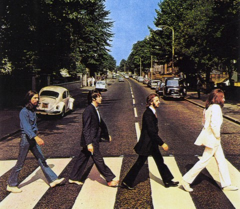 "The Original Beatles ""Abbey Road"" album cover"