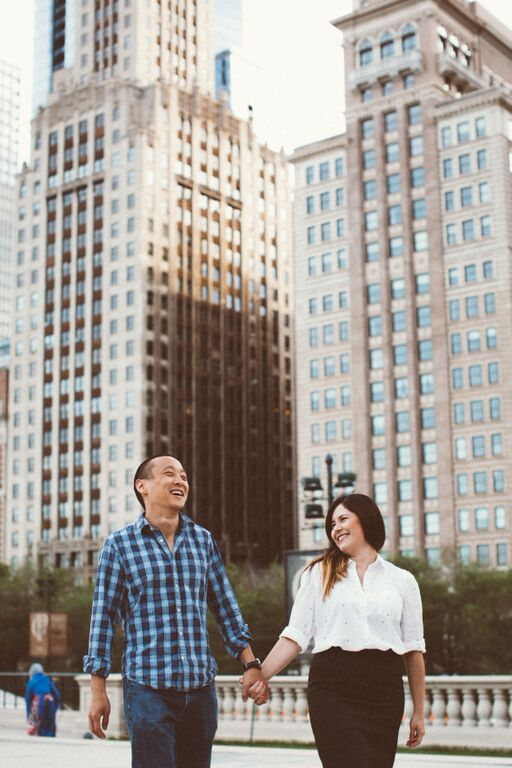 FLYTOGRAPHER Vacation Photographer in Chicago - Laura Tim