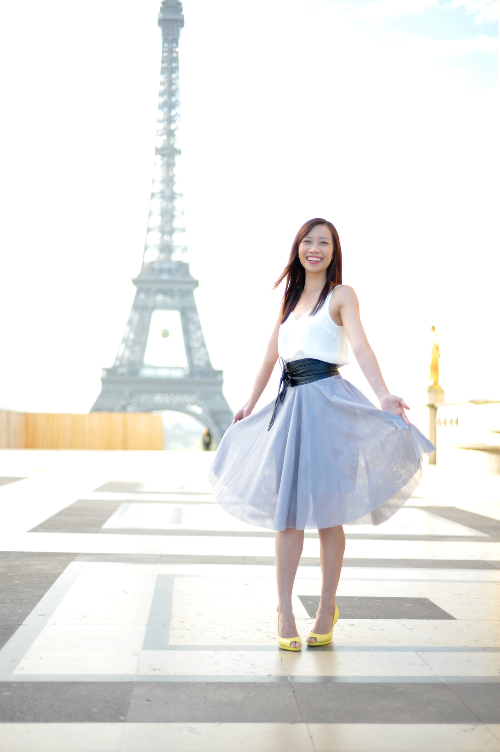 Stylish fashion in Paris