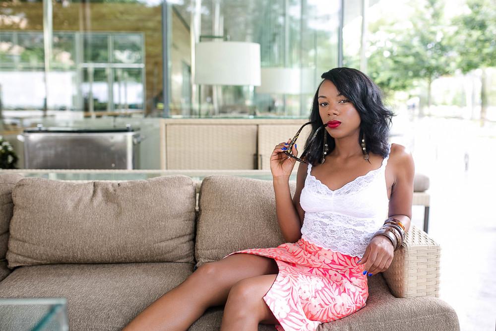 fashion shoot in Dallas, Teas