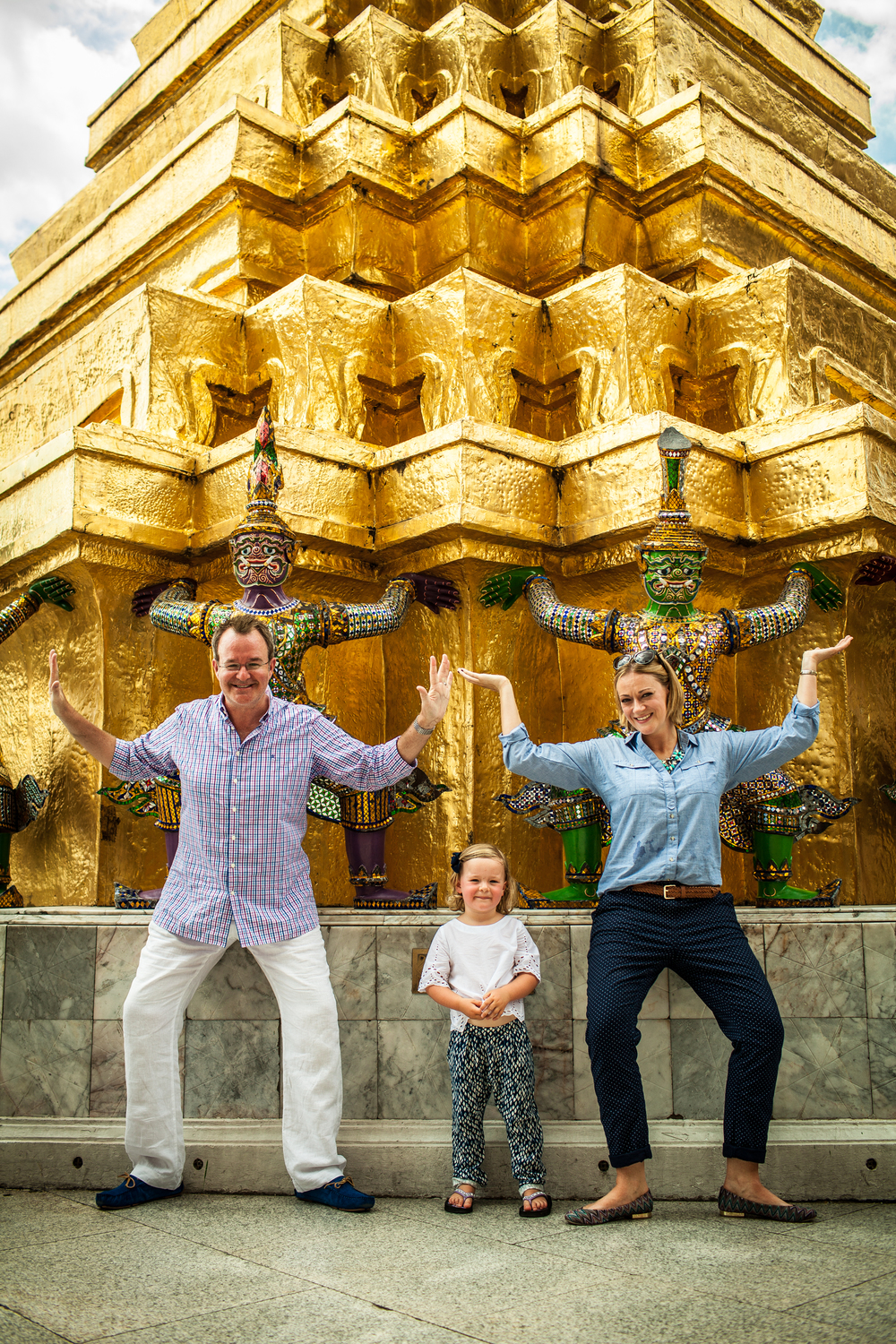 Family adventure in bangkok