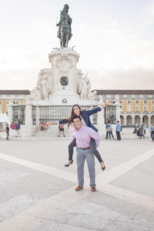 Surprise Proposal in Lisbon
