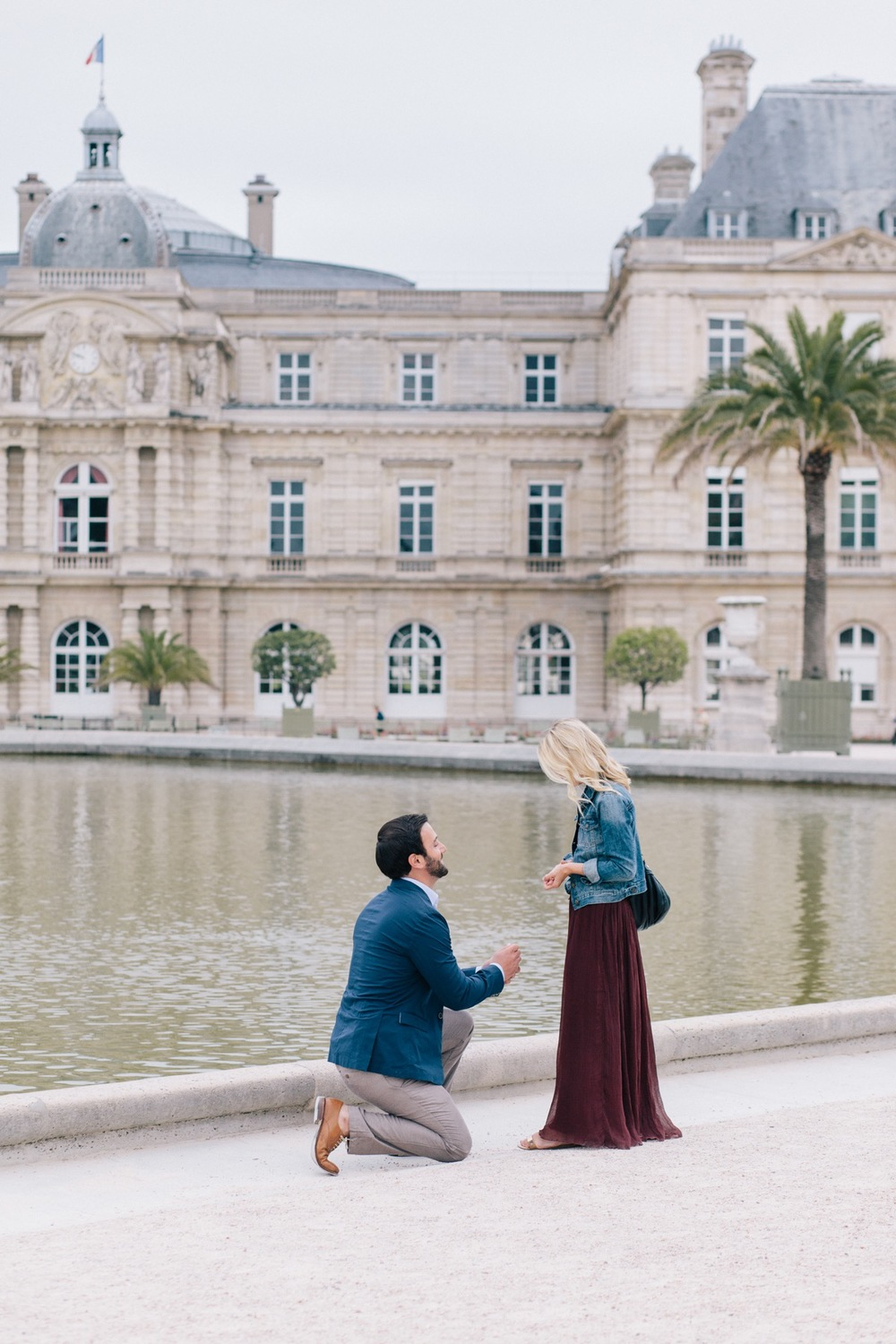 Surprise Jardin du Luxembourg Proposal