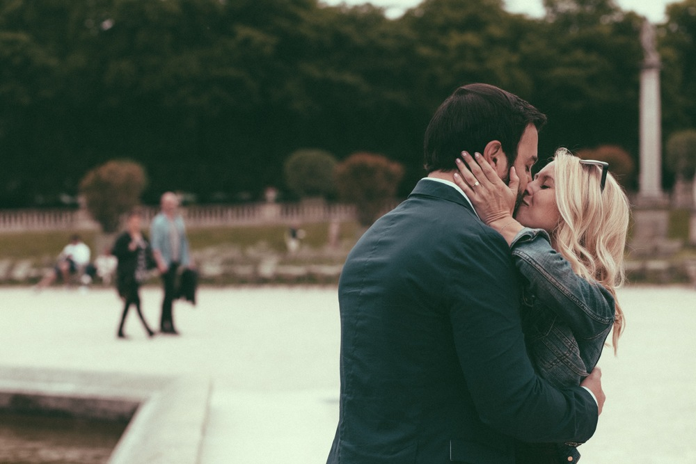 Jardin du Luxembourg Surprise Proposal