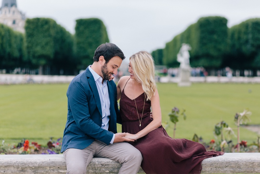 Jardin du Luxembourg Surprise Proposal Paris