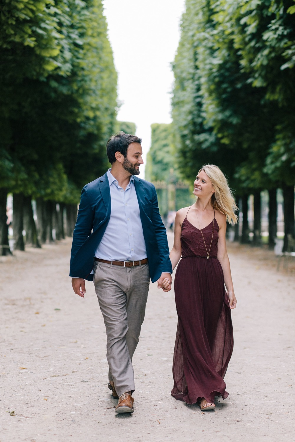 Jardin du Luxembourg Surprise Proposal in Paris