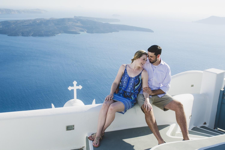 Image result for honeymoon in santorini