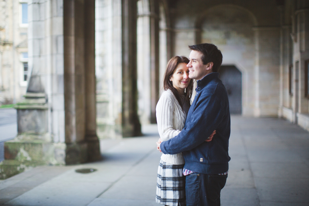 Flytographer Vacation Photographer in Edinburgh - Chantal & Scott