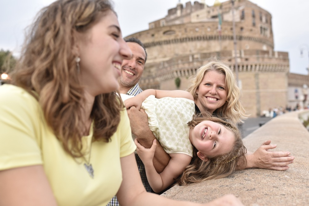 family travel to Rome