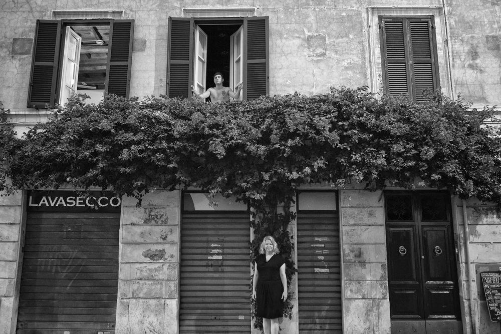 woman exploring Rome