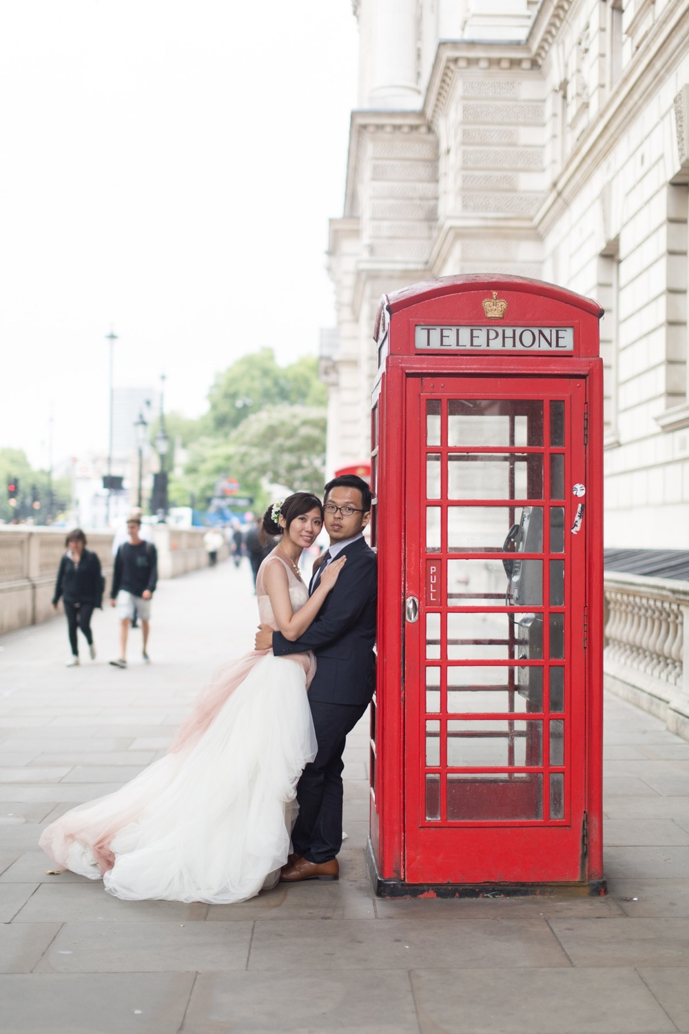 pre-wedding photography in London flytographer