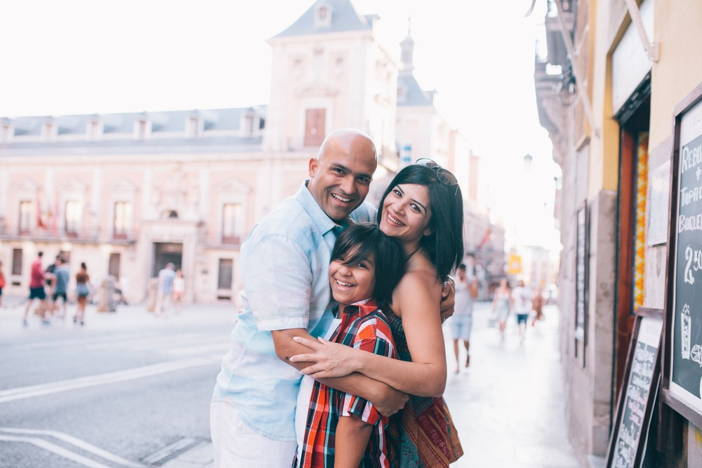 Family Vacation in Madrid via Flytographer