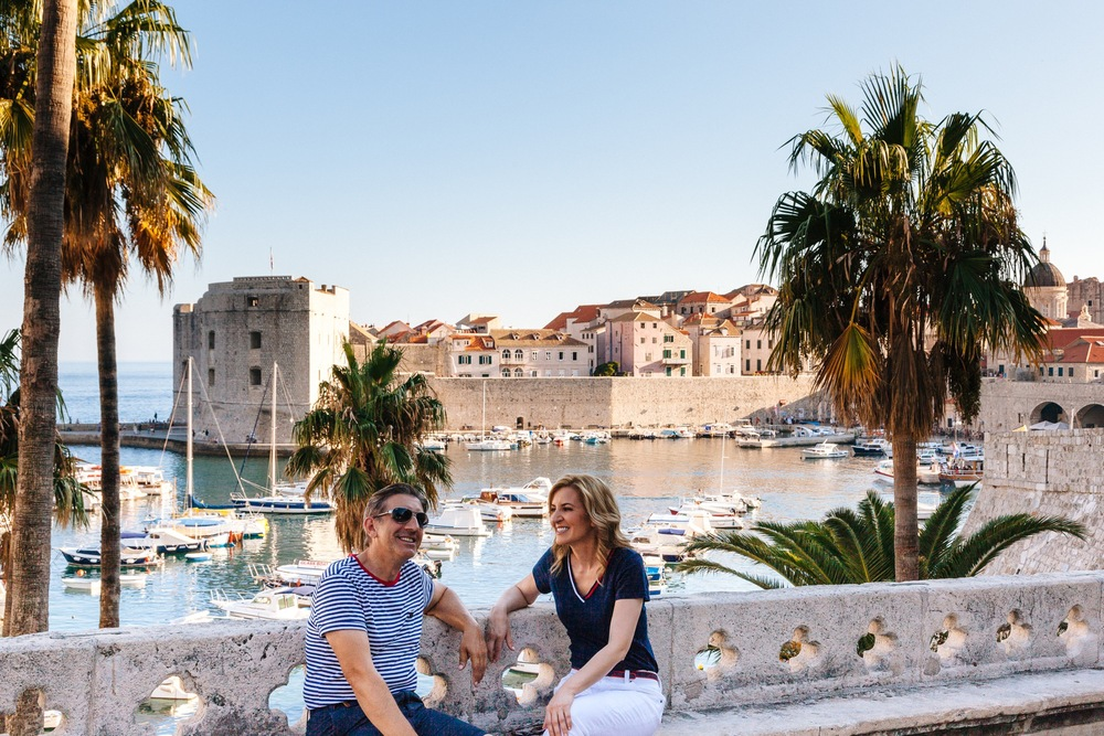 'Second Honeymoon' Anniversary Trip in Dubrovnik Photographer: Bozo Radic for Flytographer Click to read the whole story!
