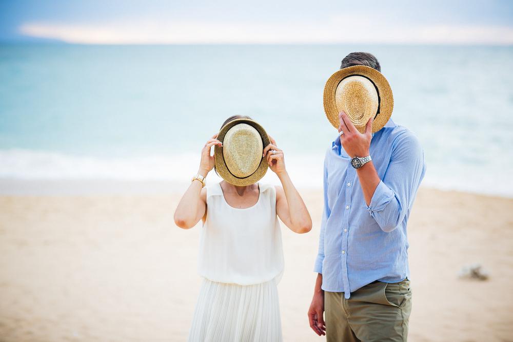Anniversary shoot Baldwin Beach Maui Vacation Photographer