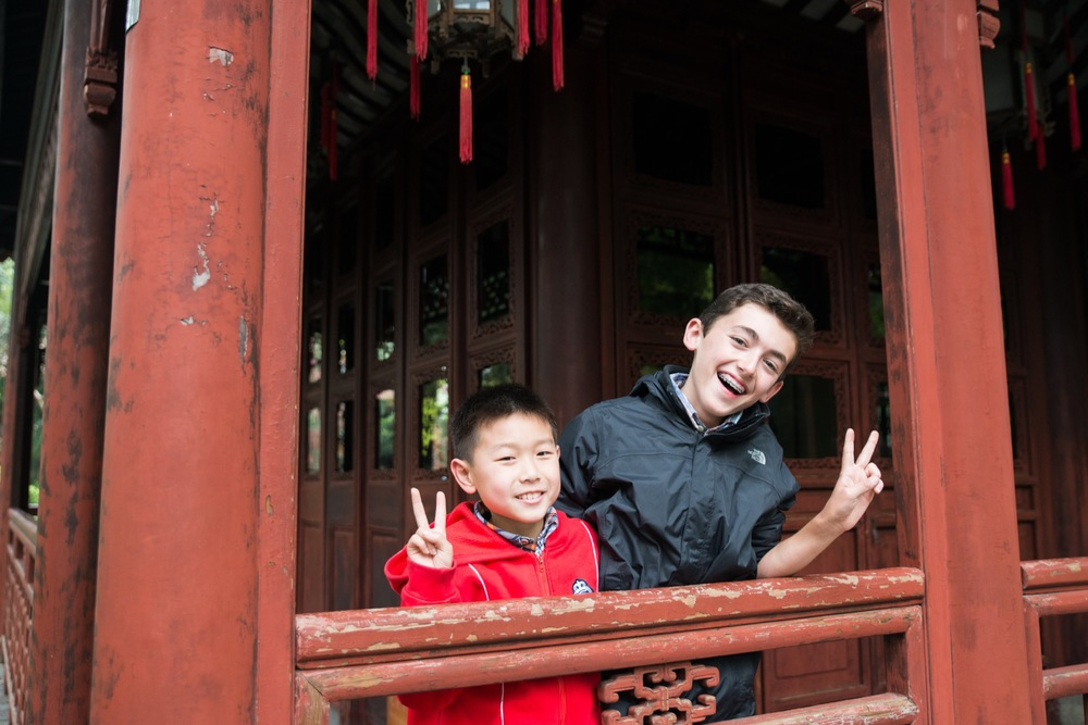Family Travel in Shanghai | Shanghai Vacation Photographer Flytographer