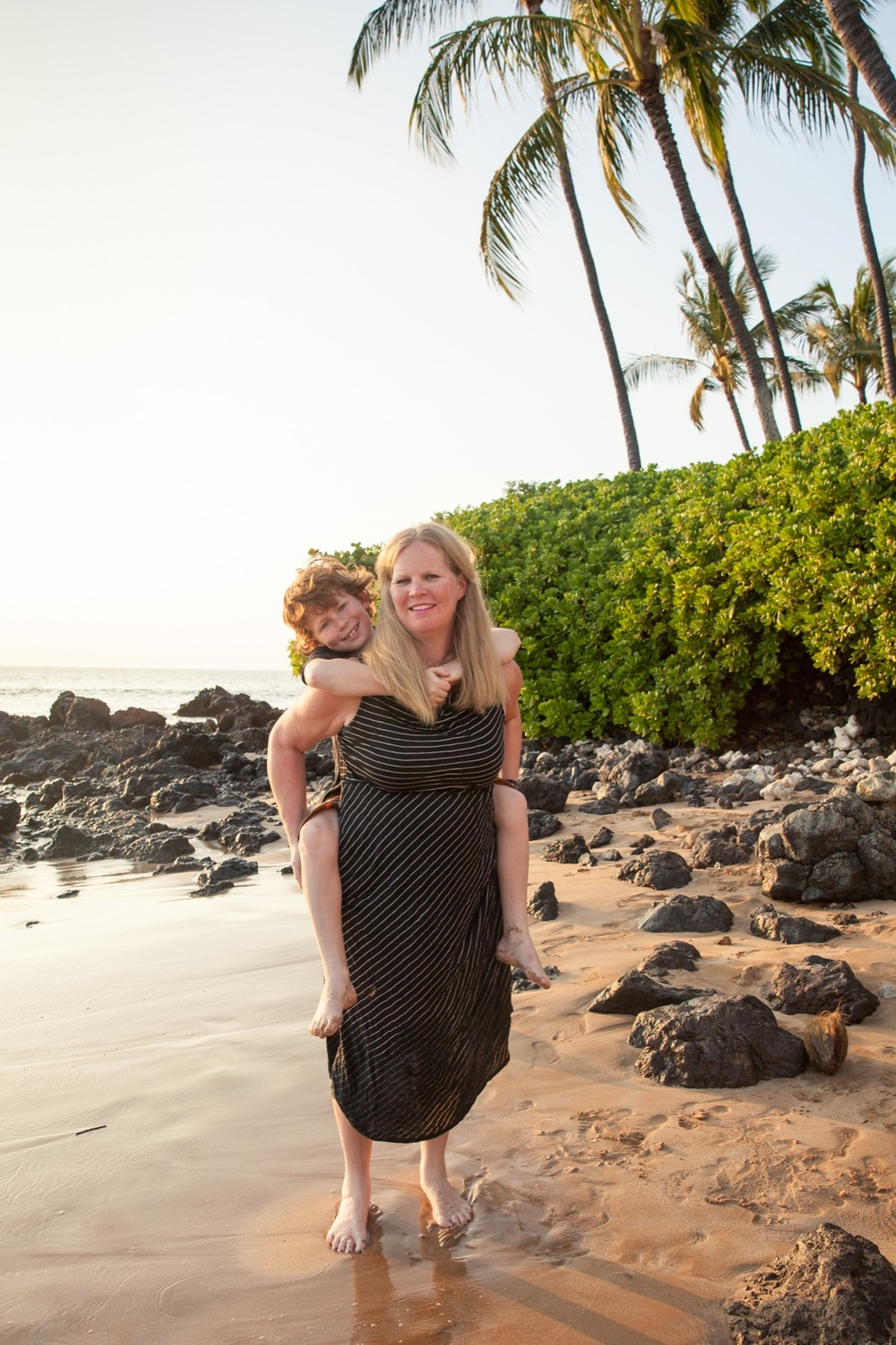 Beach Family photos maui vacation photographer Flytographer