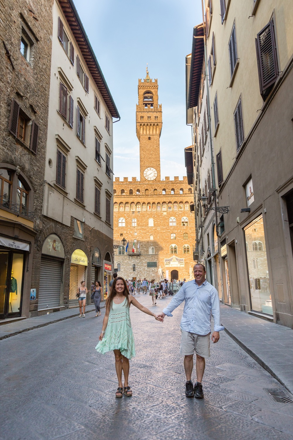 Romantic Florence Couples Shoot | Florence Vacation Photographer Flytographer