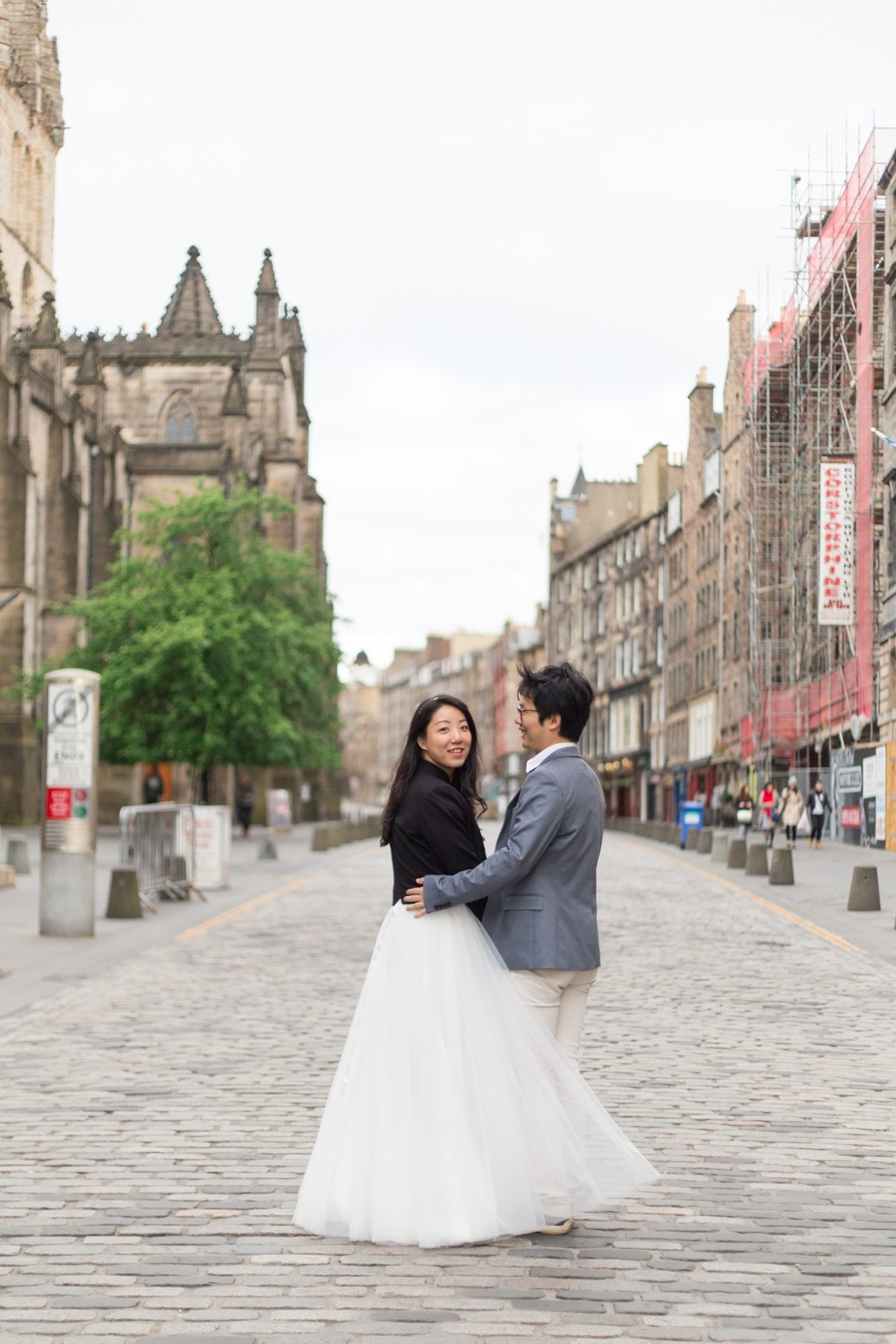Flytographer: Kim in Edinburgh