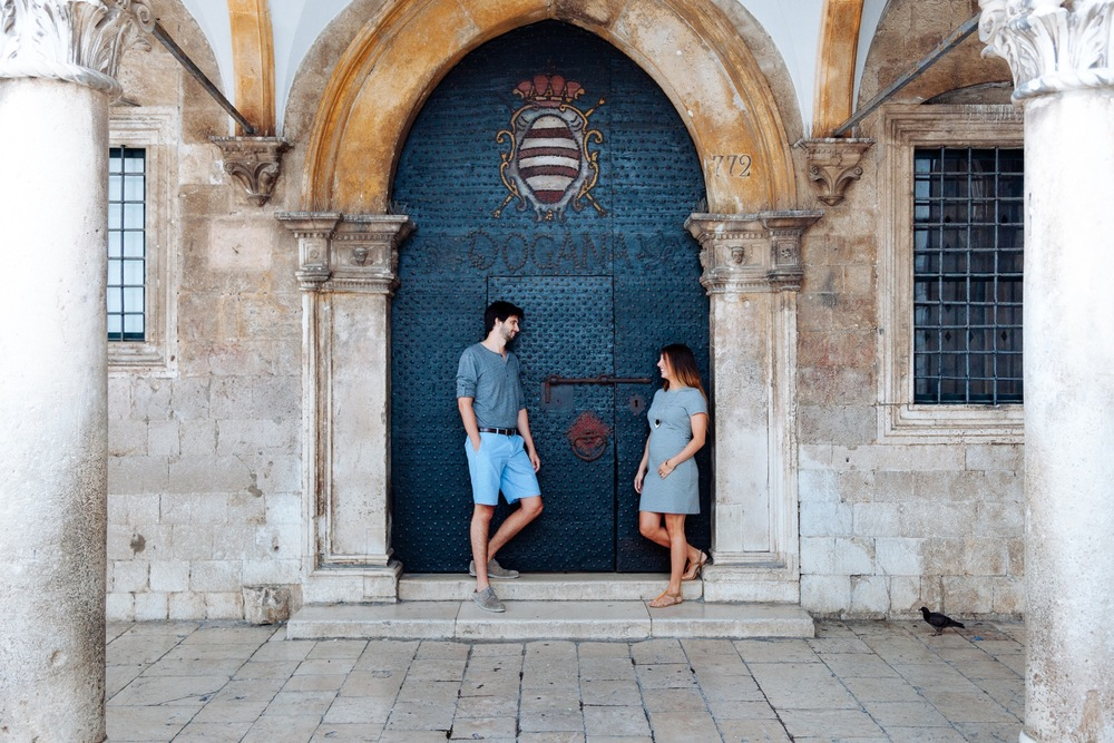 Babymoon in Dubrovnik | Dubrovnik Vacation Photographer