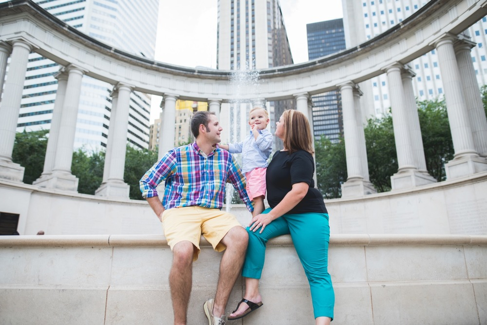 Family Vacation in Chicago | Chicago Vacation Photographer