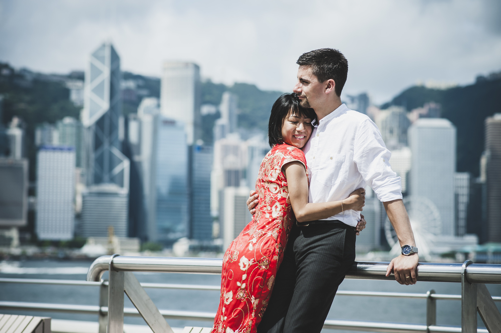 Marriage Celebration in Hong Kong | Hong Kong Vacation Photographer