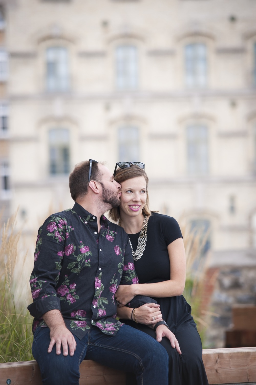 Anniversary and Birthday Shoot in Quebec City | Quebec City Vacation Photographer