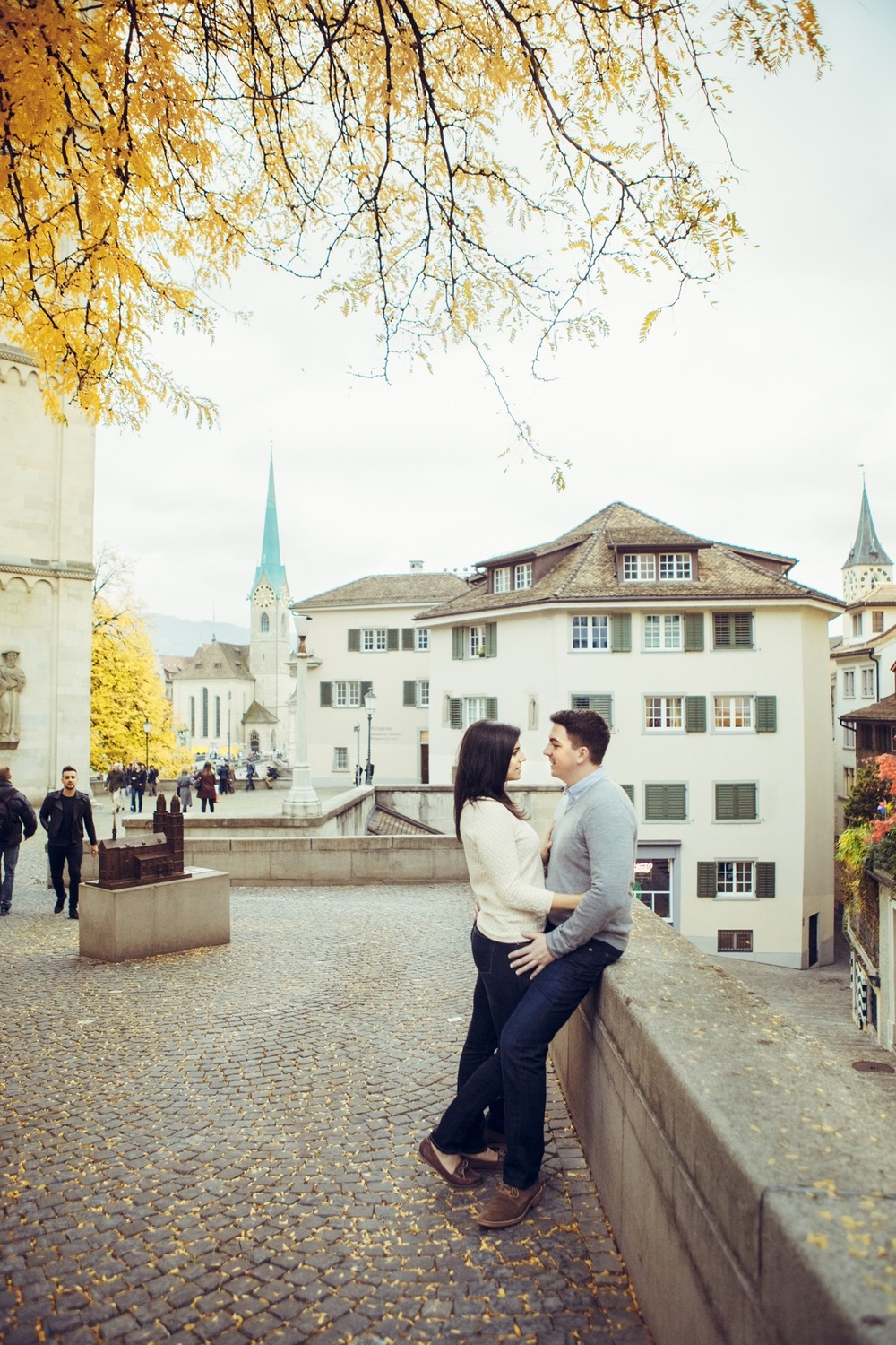Romantic Couples Travel in Zurich | Flytographer Vacation Photographer