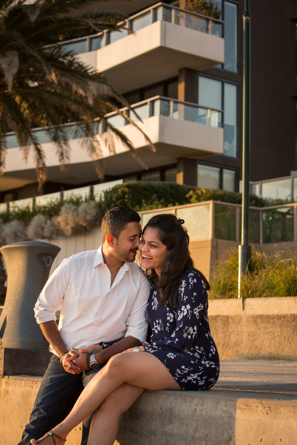 Beachy Engagement Celebration | Melbourne Vacation Photographer