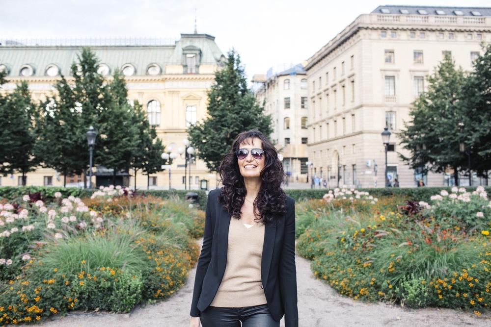 Flytographer: Matilda in Stockholm