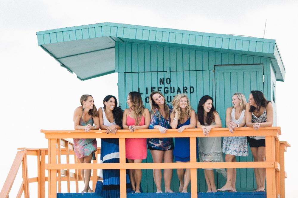 Bachelorette Party in Miami | Miami Vacation Photographer