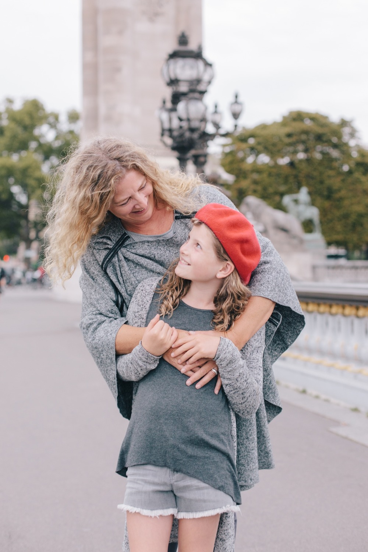 Mother-Daughter Birthday Celebration in Paris | Paris Vacation Photographer