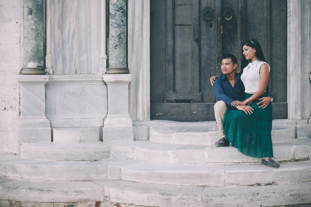 Romantic Istanbul Honeymoon | Istanbul Vacation photographer