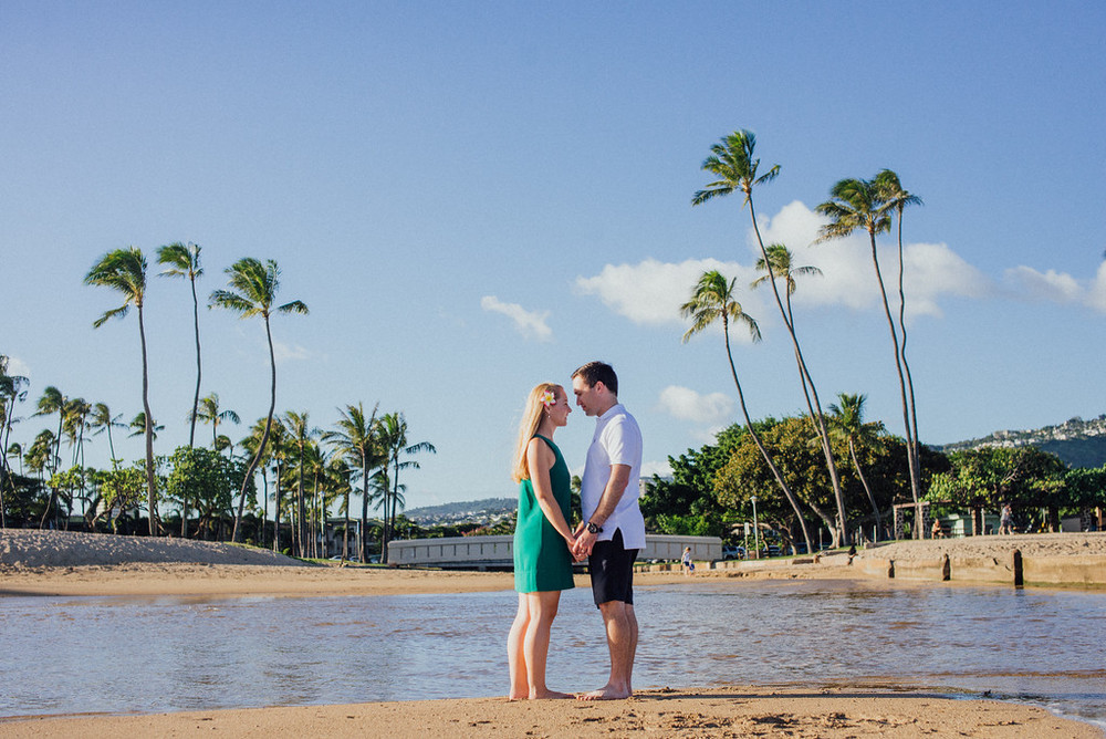 Kona Beach Honeymoon Vacation Photographer Flytographer