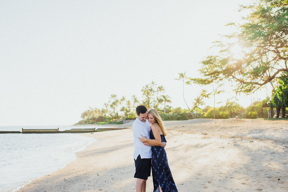 Kona Beach Hawaii Honeymoon Vacation Photographer Flytographer