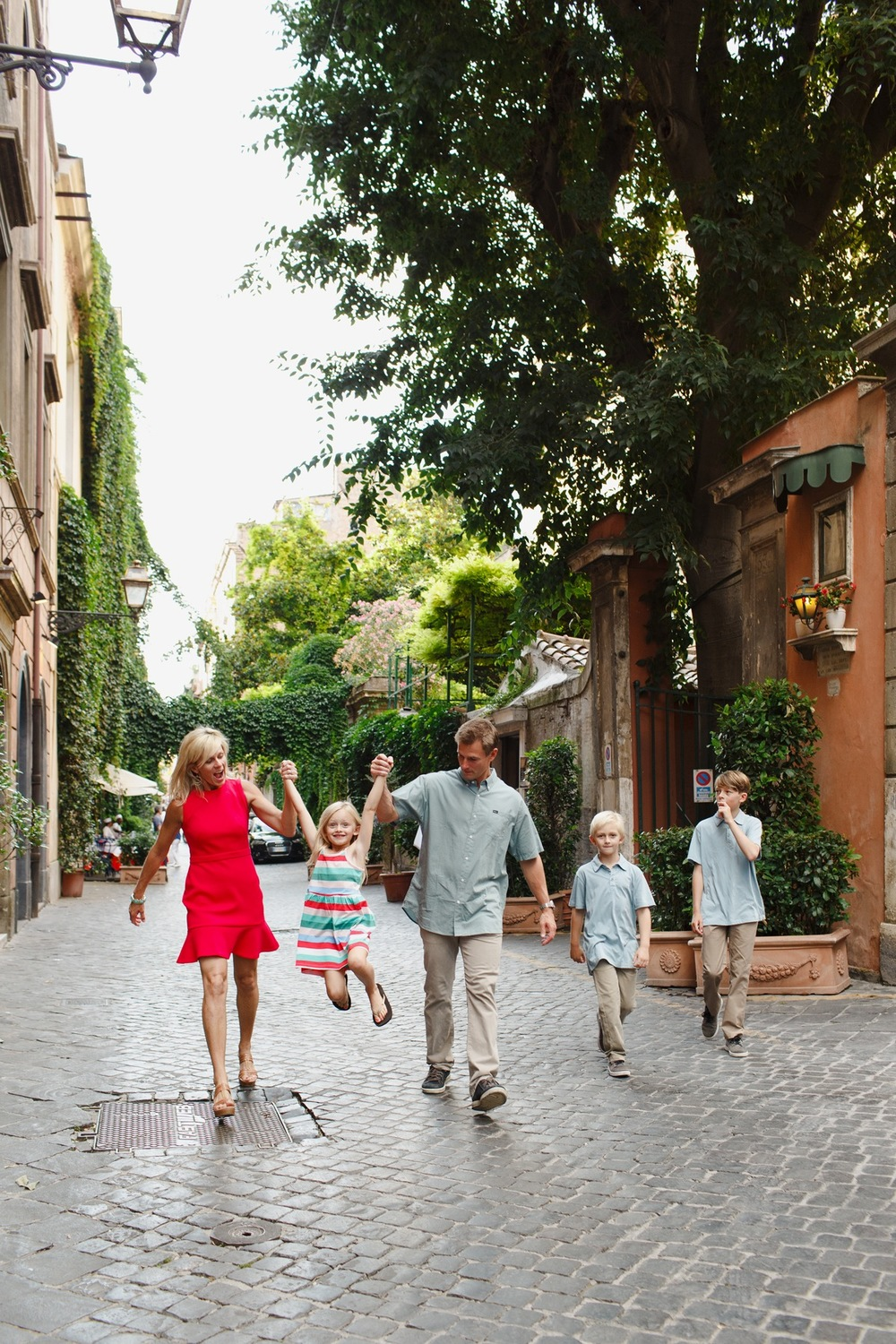 Family Vacation to Rome | Rome Vacation Photographer Flytographer
