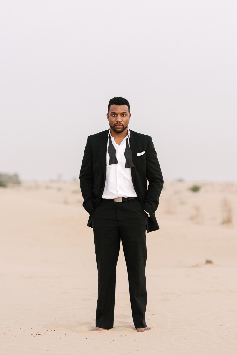 Romantic Couples Shoot in Dubai Desert | Dubai Vacation Photographer