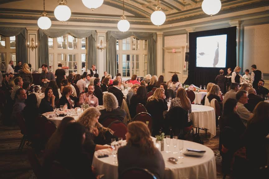 Flytographer Dragon Den Viewing Party at the Fairmont Empress Hotel in Victoria